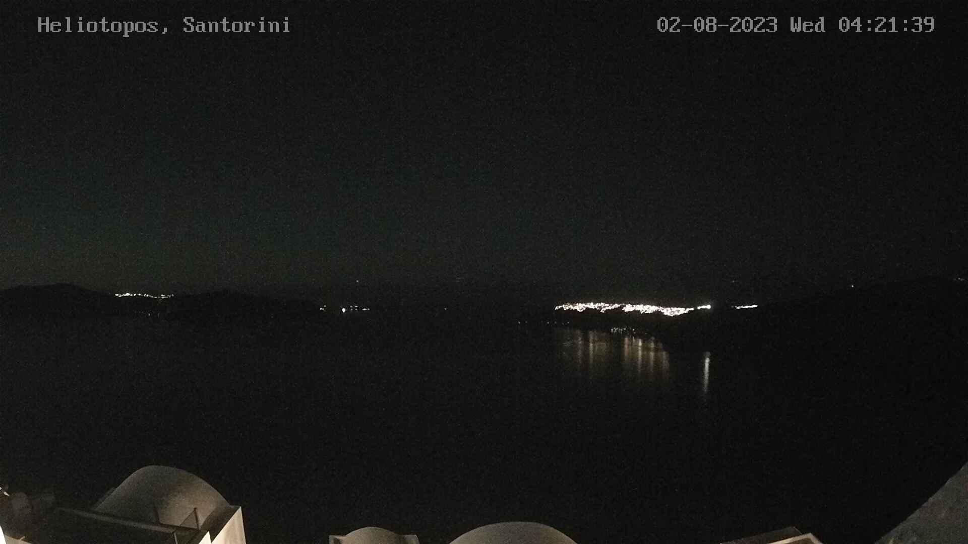 Webkamera Imerovigli: Santorini caldera