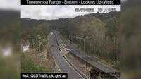 Toowoomba: Range - Bottom (Looking up - west) - Overdag