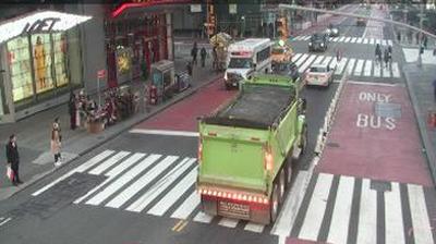 Vue actuelle ou dernière à partir de Manhattan Community Board 5: New York, Broadway st