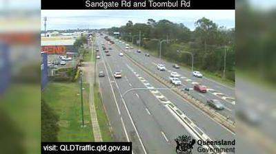 Daylight webcam view from Virginia: Northgate − Sandgate Road & Toombul Road (North)