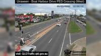 Hervey Bay: Boat harbour Drive Pedestrian Crossing - Urraween (looking west) - Overdag