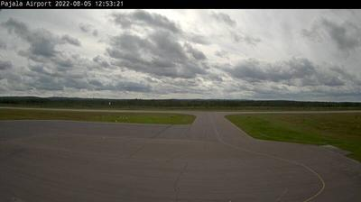 Daylight webcam view from Pajala Airport: Pajala Ylläs Flygplats