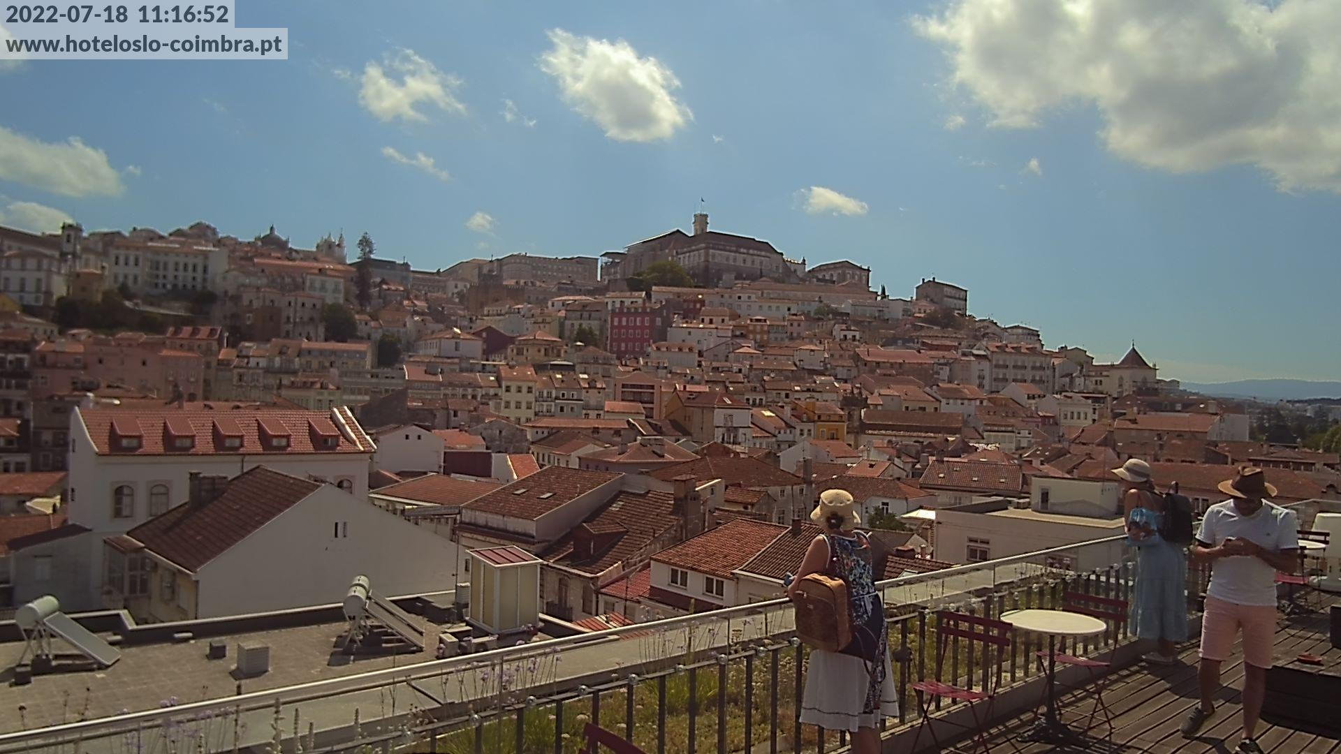 webcam Coimbra: Largo Sé Velha − Biblioteca Joanina − MUS