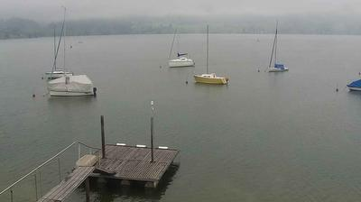 Daylight webcam view from Segelclcub Sihlsee: Sihlsee