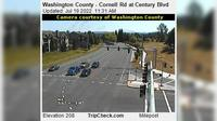 Hillsboro: Washington County - Cornell Rd at Century Blvd - Actuelle