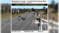 Hillsboro: Washington County - Cornell Rd at Century Blvd - Jour