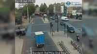 Little London: Burdett Rd/Mile End Rd - El día