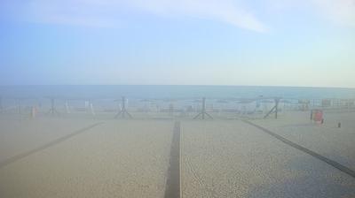 Current or last view from Приморське › South East: Zaliznyi Port Chorne Sea