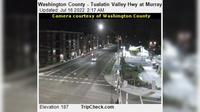Beaverton: Washington County - Tualatin Valley Hwy at Murray Blvd - Aktuell