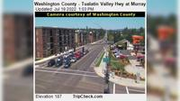 Beaverton: Washington County - Tualatin Valley Hwy at Murray Blvd - El día
