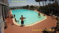 Diano Marina: Hotel Gabriella Beach & swimming-pool - Day time