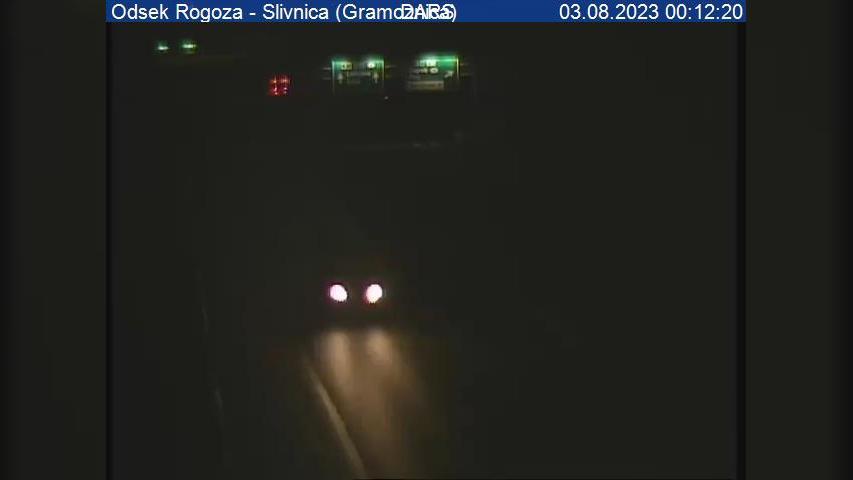 Webcam Bohova: A1/E57, Maribor − Ljubljana, odsek Rogoza