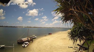 Tageslicht webcam ansicht von Shela: Lamu Island