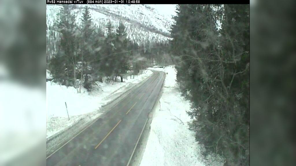 Webkamera Fausko: R52 Tuv i Hemsedal (1,5 km vest for Tuv se
