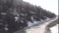 L'Hospitalet-pres-l'Andorre: Carretera RN. Accés Andorra des de - El día