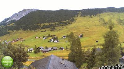 Vista de cámara web de luz diurna desde Malbun › East: Turna − Sareiserjoch