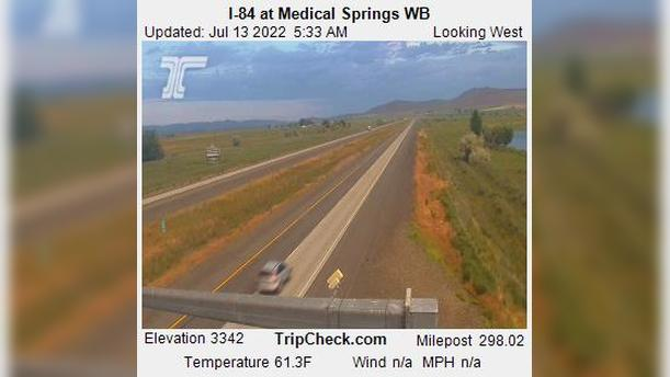 Webcam Wingville: I-84 at Medical Springs WB
