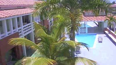 Daylight webcam view from Punta Cana: Villas Mar y Sol II