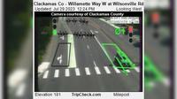 Wilsonville: Clackamas Co - Willamette Way W at - Rd - Overdag
