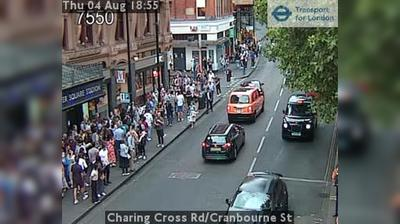 Londres: Charing Cross Rd/Cranbourne St
