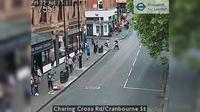 London: Charing Cross Rd/Cranbourne St - El día