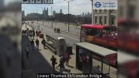 City of London: Lower Thames St/London Bridge - Day time