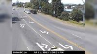 Nanaimo > West: , Hwy , at Comox Rd and Terminal Ave in - looking west - Day time
