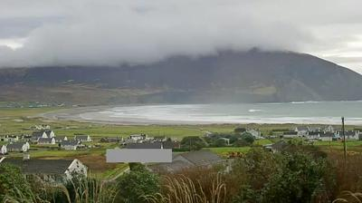 Daylight webcam view from Achill Island: Keel Beach co mayo