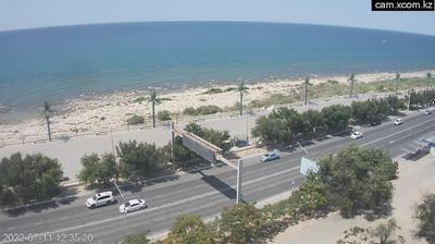 Daylight webcam view from Aktau: Мангистауская Область