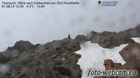 Vernagt - Vernago: Tisenjoch - Blick nach S�dwesten zur �tzi Fundstelle - Day time