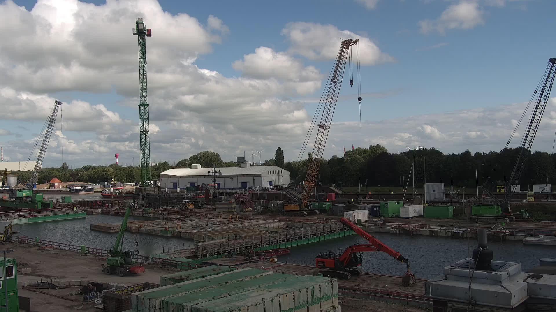 Schleuse Brunsbuttel: Livespotting - Webcam am Nord-Ostsee Kanal an der