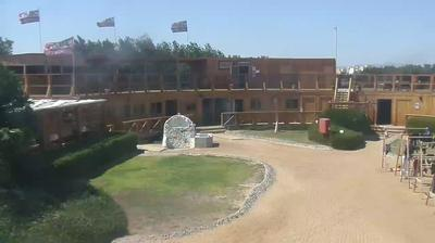 Daylight webcam view from الجونة: Kiteboarding club El Gouna