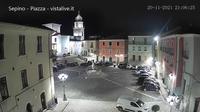 Sepino: Webcam Piazza Nerazio Prisco - Current
