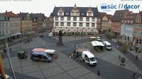 Neustadt b.Coburg: Coburg: Marktplatz - Dia