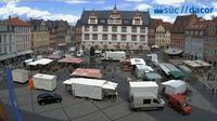 Neustadt b.Coburg: Coburg: Marktplatz - Overdag