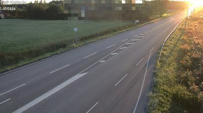 Current or last view from Kokkola: Tie 8 Lohtaja − Ouluun