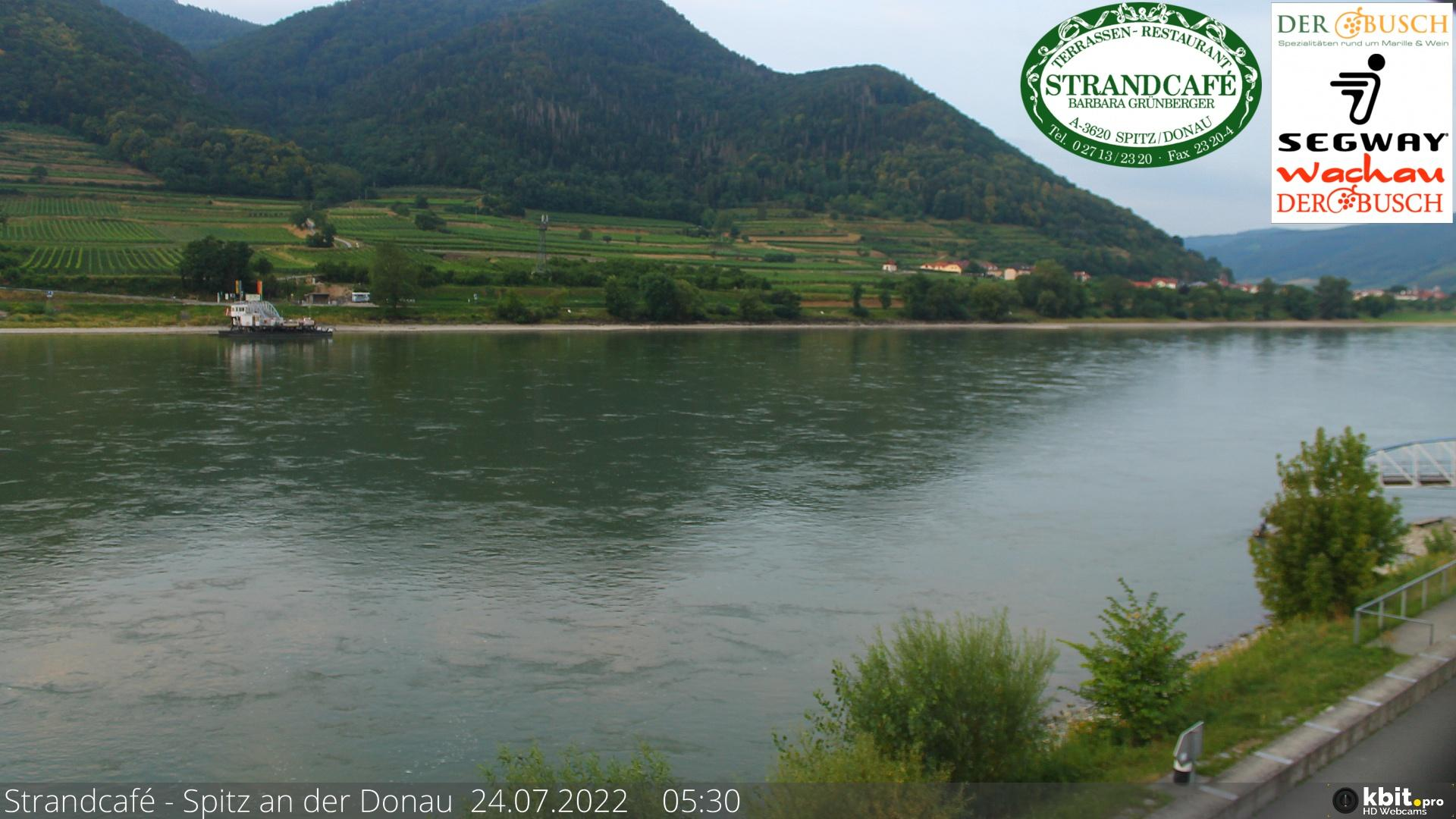 Webcam Spitz an der Donau: Danube River