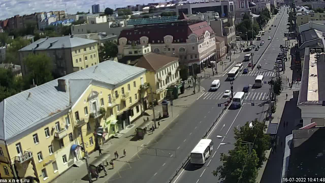 Webcam Kaluga › East: ulitsa Kirova