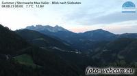 Karneid - Cornedo all'Isarco: Gummer - Sternwarte Max Valier - Blick nach S�dosten - Current