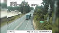 Poulsbo › North: SR  at MP : Equestrian Dr Looking North - Actual