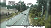 Poulsbo › North: SR  at MP : Equestrian Dr Looking North - Dia