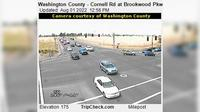 Hillsboro: Washington County - Cornell Rd at Brookwood Pkwy - Day time