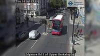 London: Edgware Rd S of Upper Berkeley St - Overdag