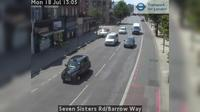 North Cheam: Seven Sisters Rd/Barrow Way - El día
