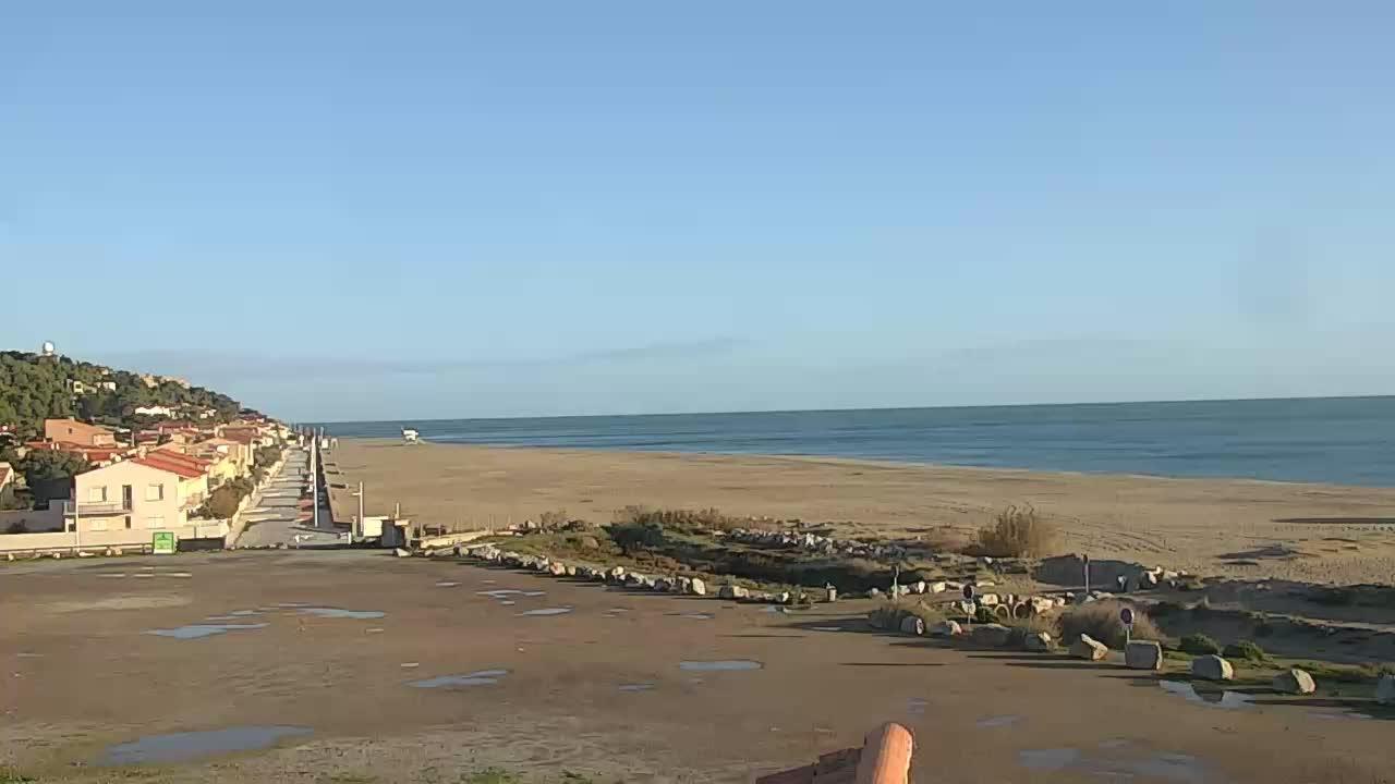 Webcam Leucate-Plage: Leucate-La plage