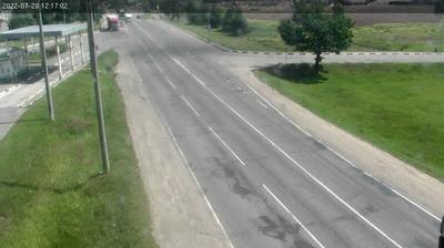 Vue webcam de jour à partir de Чарнешчына: Polotsk R45 2 km