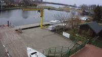 """Rajgród: Yacht Club """"Arcus"""" - Jezioro Rajgrodzkie - Overdag"""