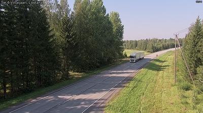 Current or last view from Viitasaari: Tie 4 − Löytänä − Ouluun