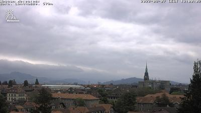 Daylight webcam view from Bern, Länggasse: Berne