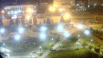 Братск - Иркутская область, Россия: Площадь «Ленина»